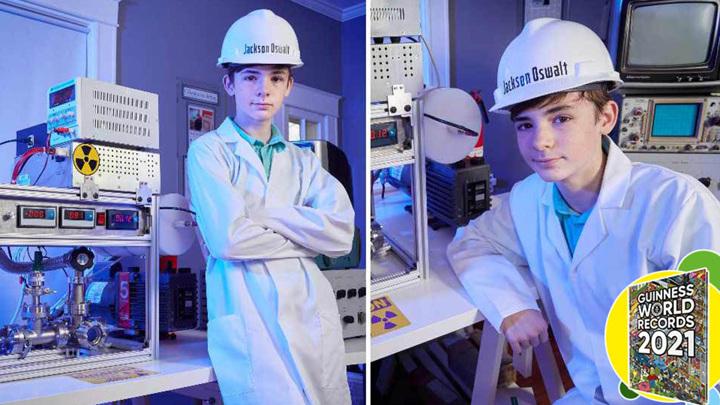 12-летний мальчик собрал ядерный реактор и попал в Книгу рекордов Гиннесса