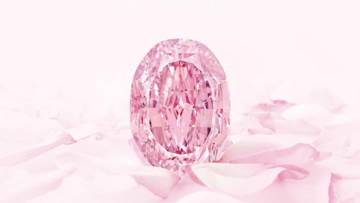 На Sotheby's продадут огромный розовый бриллиант из России