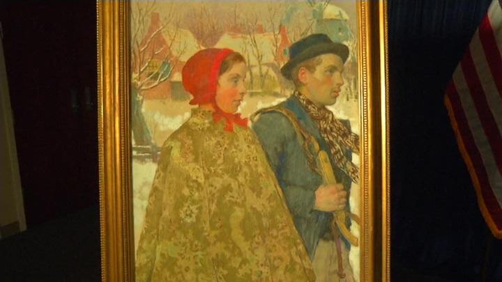 В одном из небольших музеев США обнаружили украденную во время войны картину
