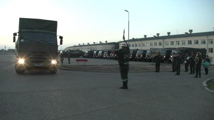 В первый день работы мобильного госпиталя в Хакасии привили более 100 человек