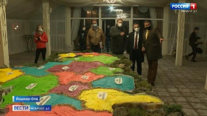 В Йошкар-Оле испекли самый большой в мире торт
