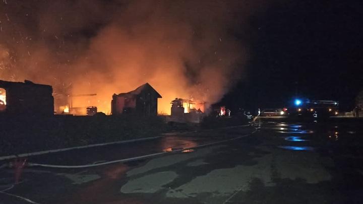 Под Переславлем сгорел кадетский корпус пансиона Свято-Алексиевской пустыни