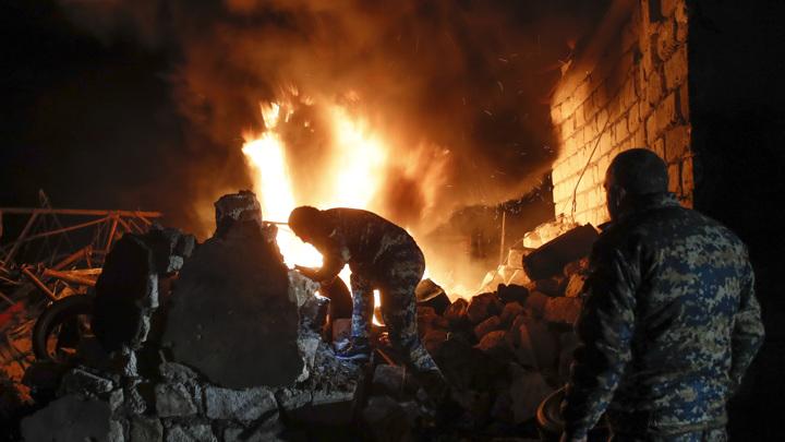 На границе Армении и Азербайджана произошла перестрелка: есть погибшие