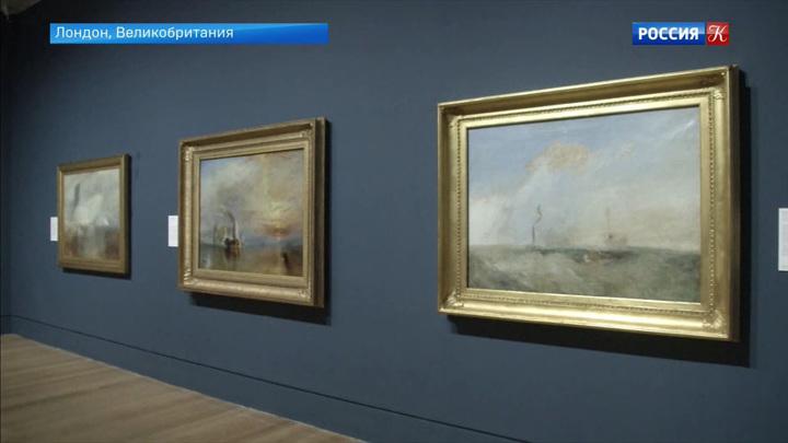 Выставка работ Уильяма Тернера открывается в Лондонской галерее «Тейт»