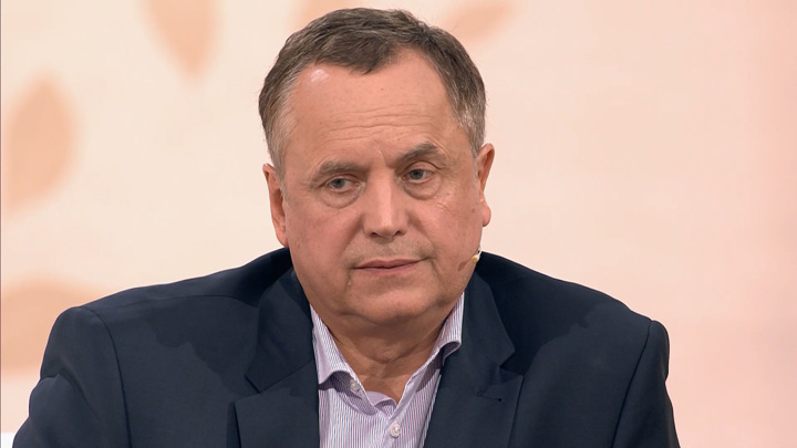 """Кадр из программы """"Судьба человека"""". Андрей Соколов"""