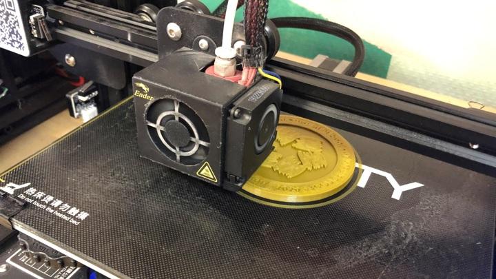 Цифровизация во всем: медали Дельфийских игр распечатают на 3D-принтере