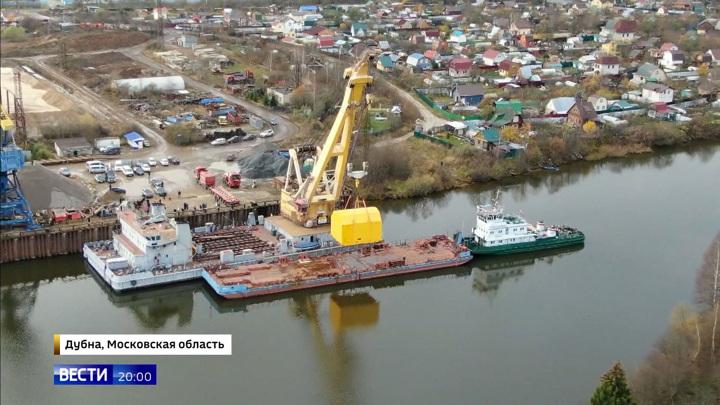 В Дубну доставили уникальную катушку для российского коллайдера