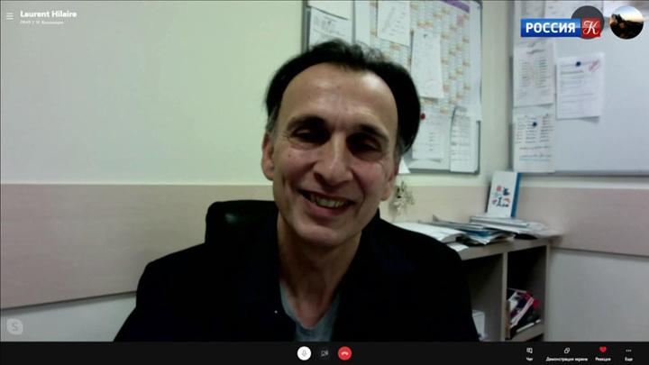 Беседа с Лораном Илером