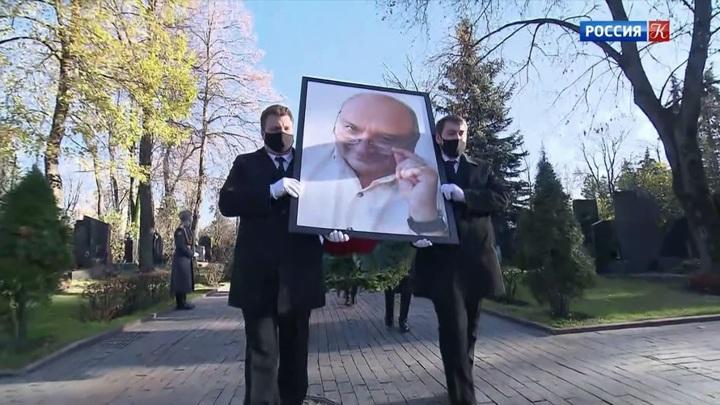 Церемония прощания с Михаилом Жванецким прошла в закрытом режиме