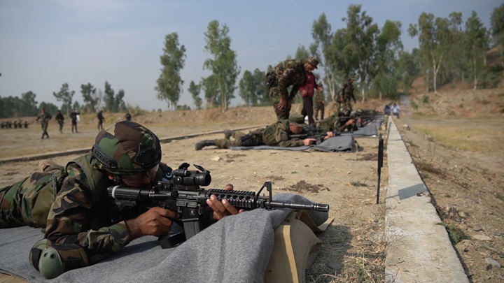 Российский спецназ испытал американские винтовки