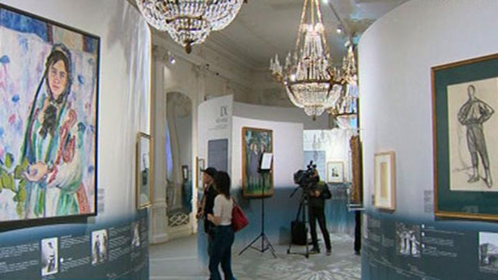 В Шереметьевском дворце открылась выставка, посвященная Сергею Дягилеву