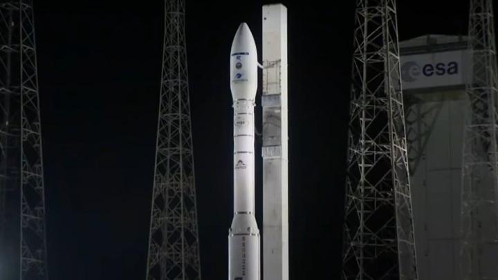 К аварии ракеты Vega привел сбой в работе украинского двигателя