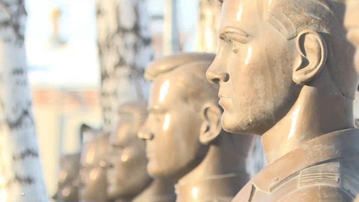 В Далматово благодаря гранту Курганской облдумы обновили Аллею Славы