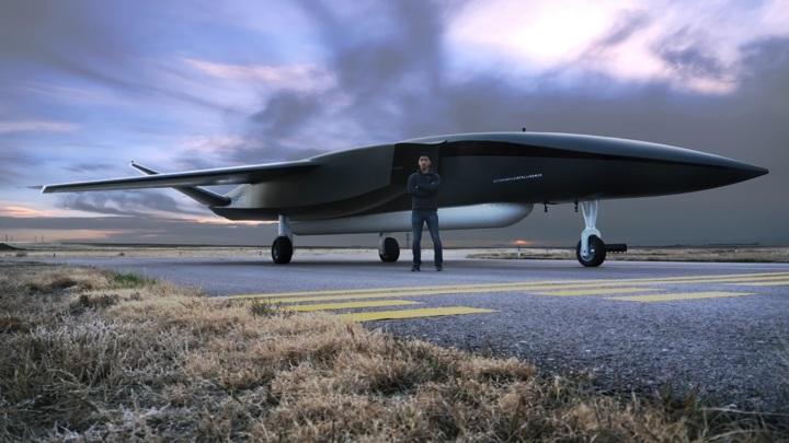Дрон с размахом крыльев 18 метров предназначен для запуска спутников.