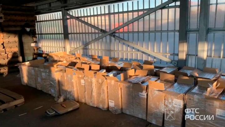 Дело – табак: найден склад с незаконной продукцией на полмиллиарда