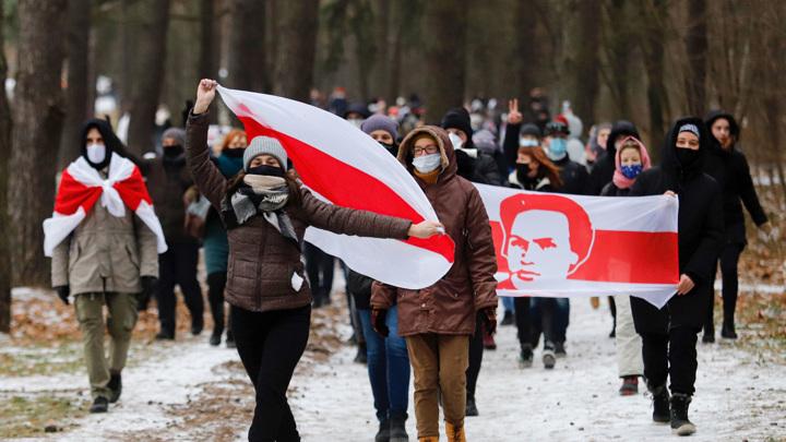 В Минске идут задержания
