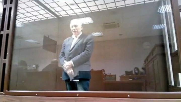 """""""В состоянии полного умопомрачения"""": появилось видео выступления историка Соколова в суде"""