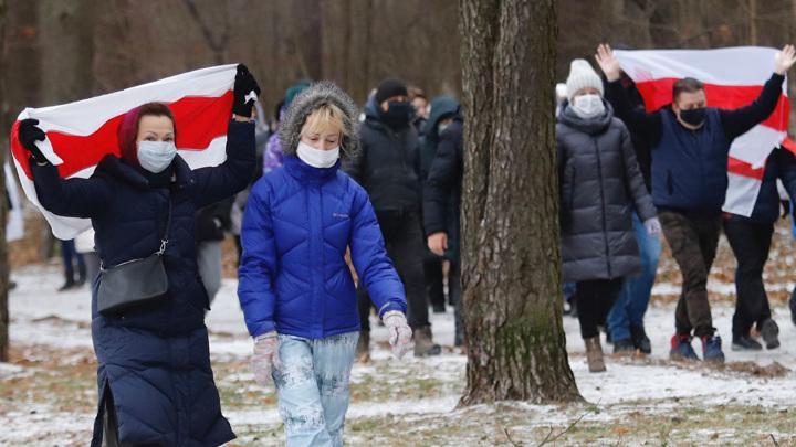 Милиция сорвала марш пенсионеров в Минске