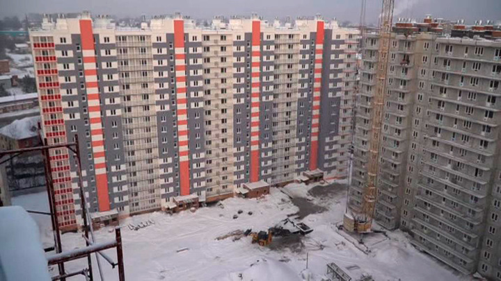 Строительство квартир стало для Кузбасса выходом из кризиса