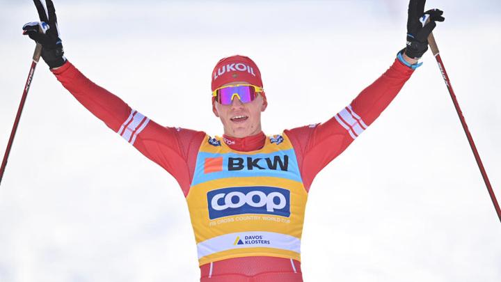 Российские лыжники выиграли командный спринт на этапе Кубка мира