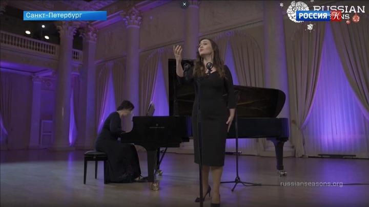 Рождественский концерт «Русских сезонов» прозвучал онлайн