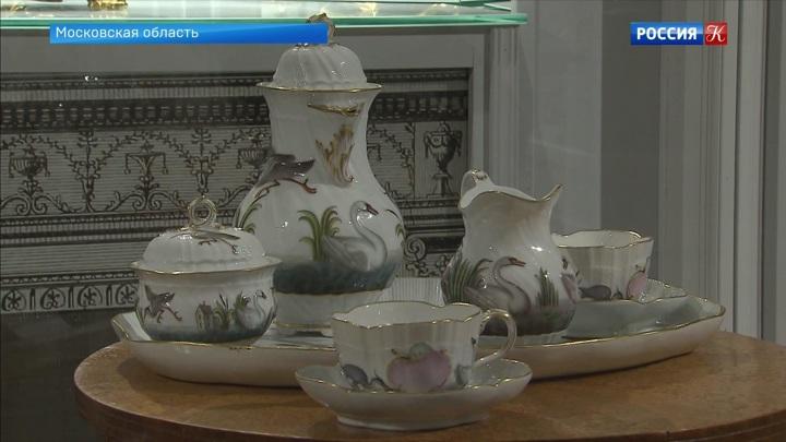В музее-усадьбе «Архангельское» открыли большую выставку фарфора из собрания князей Юсуповых