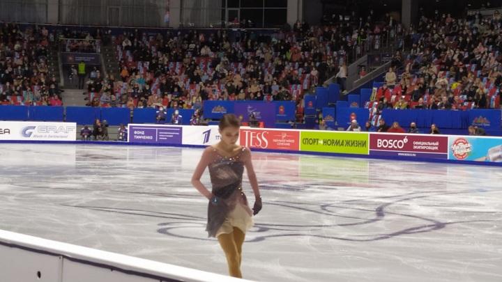 Чемпионат России по фигурному катанию в Челябинске