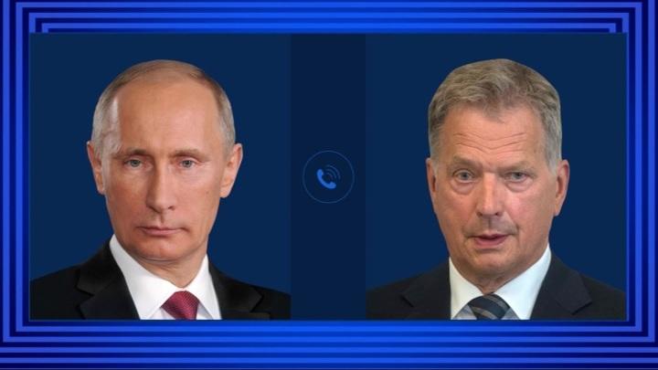 Путин обсудил по телефону с президентом Финляндии ряд важных мировых вопросов