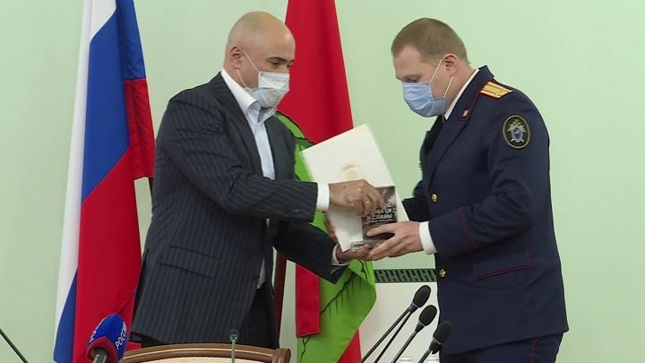 """В Липецке наградили активистов """"Года памяти и славы"""""""