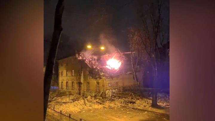 В Риге при взрыве в жилом доме пострадали четыре человека