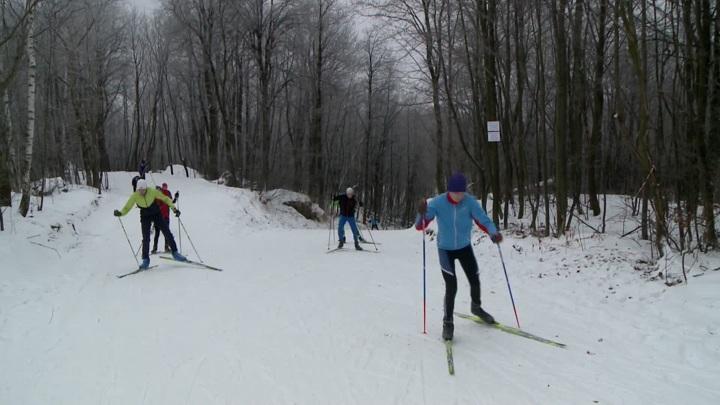Гибель лыжника во время соревнований на Камчатке попала на видео