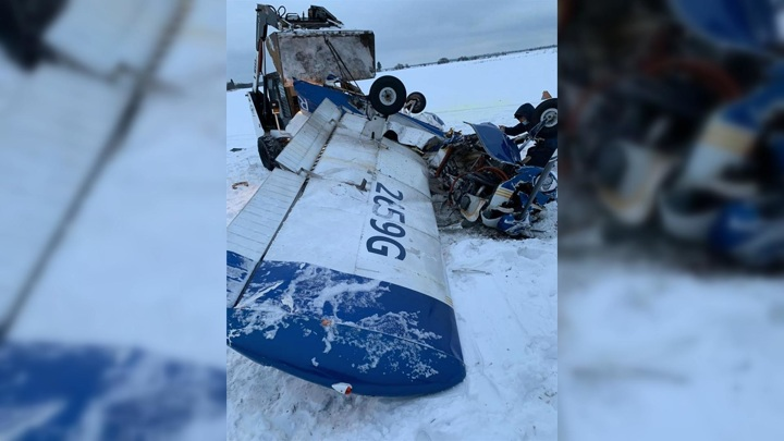 Установлена личность пилота разбившегося в Ленобласти самолета