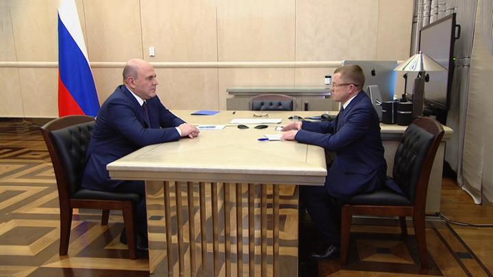 Мишустин обсудил с Калининым меры поддержки бизнеса