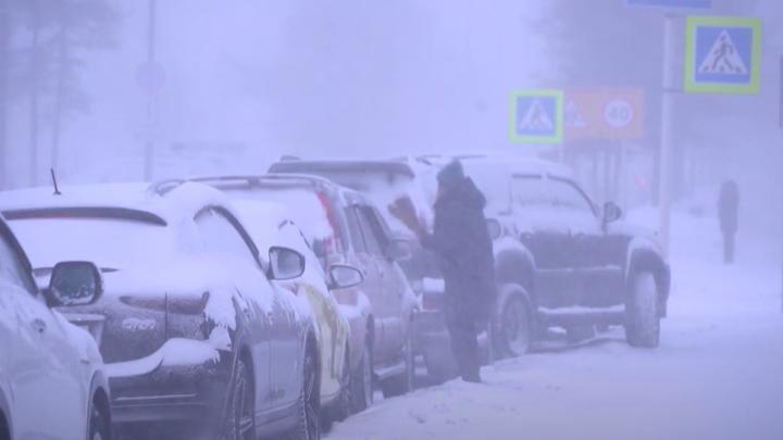 В Челябинской области несколько дорог областного значения закрыто из-за снегопада