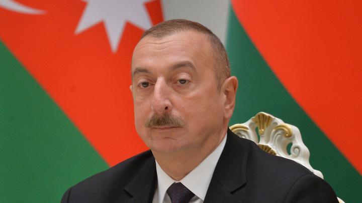 """Алиев потребовал узнать, откуда у Армении """"Искандеры"""""""
