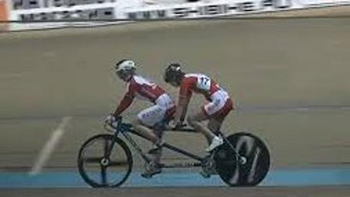 В Омске прошел чемпионат России по велоспорту среди слабовидящих спортсменов