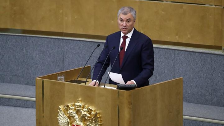 Володин призвал не допустить вмешательства в избирательную кампанию