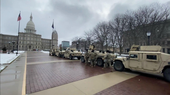 Виртуальную инаугурацию будет охранять целая армия