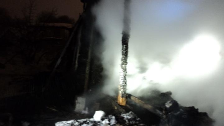В Казани пожилой мужчина сгорел в своем доме