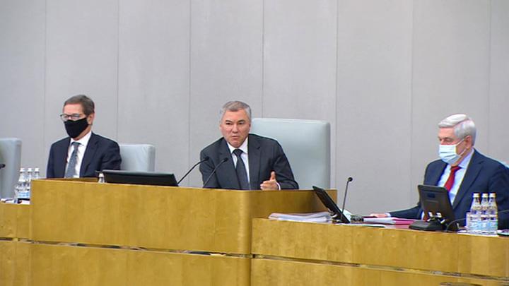Главы двух палат парламента высказались о ковид-паспортах