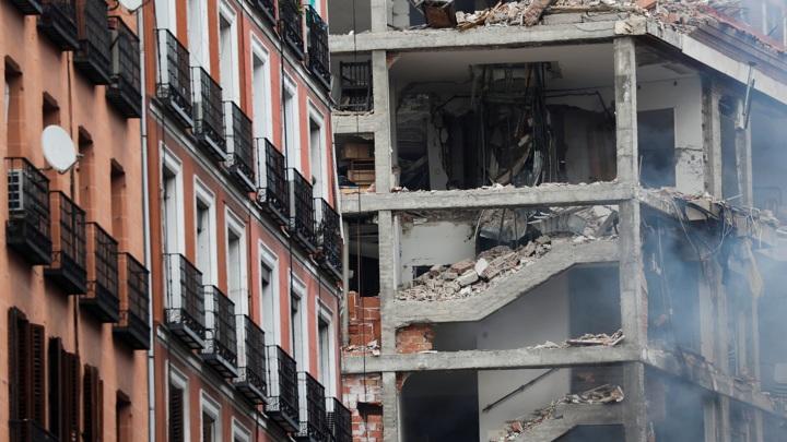 Жертвами мощного взрыва в Мадриде стали не менее трех человек