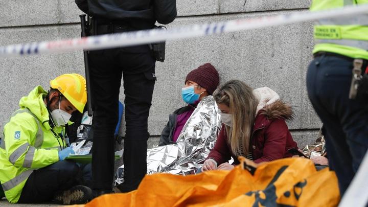 Число жертв взрыва в центре Мадрида увеличилось