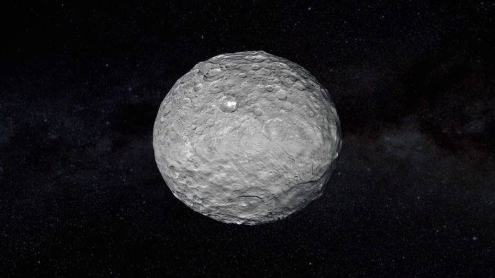 Церера могла бы стать сырьевой базой для строительства мегаспутника.