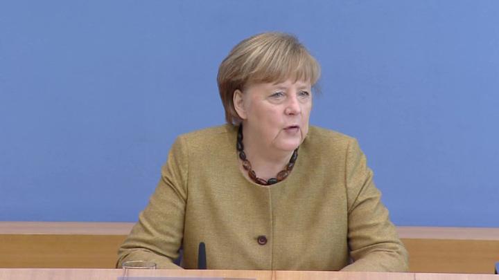 """Меркель обсудит с Байденом судьбу """"Северного потока-2"""""""