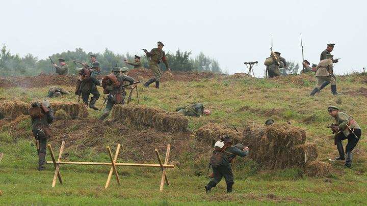 В Калининградской области отмечают годовщину штурма бывшего Гумбиннена