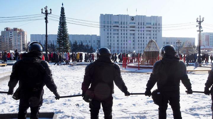 По фактам насилия в отношении полицейских в Москве возбуждены дела