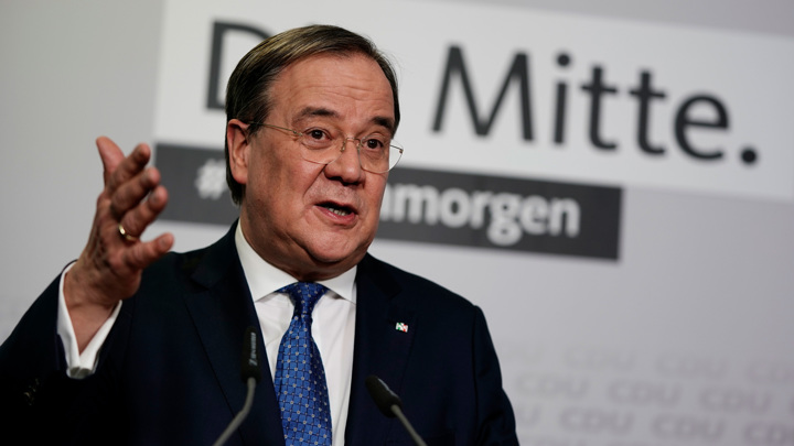 Шпан поддержал кандидатуру Лашета на пост канцлера ФРГ