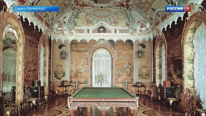 В Ораниенбауме продолжается реставрация Китайского дворца