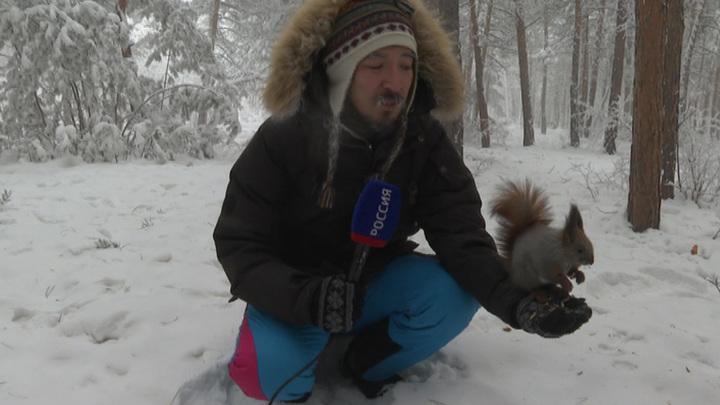 Якутию сковали суровые морозы