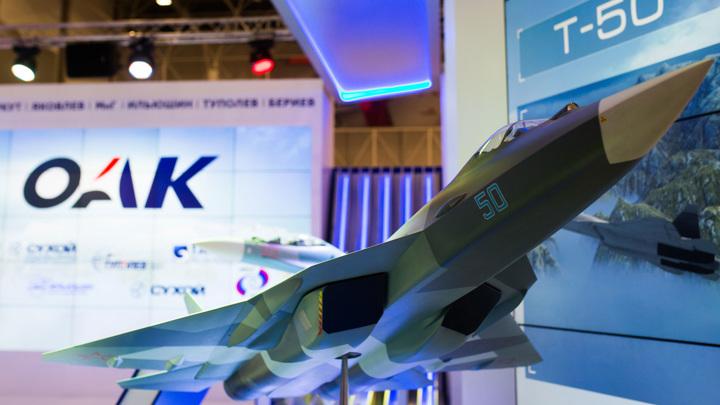 ОАК показала сборку истребителя пятого поколения